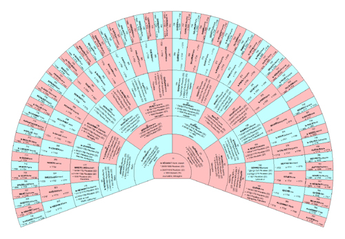 Imprimez vos arbres g n alogiques en grand format - Fabriquer un arbre genealogique original ...